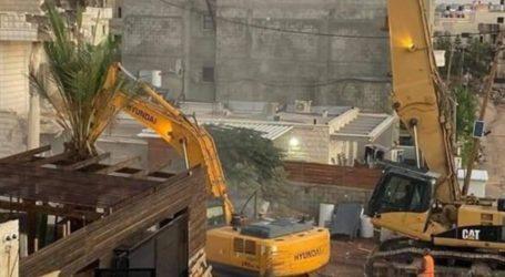 Israel Hancurkan Rumah Keluarga Palestina di Timur Tel Aviv