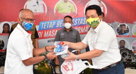 Kemenpora Serahkan Bantuan 14.442 Paket Alat Pelindung Diri Kepada KONI NTB