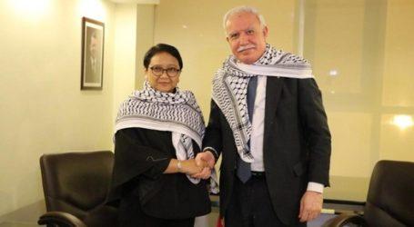 Menlu RI dan Menlu Palestina Bicarakan Rekosiliasi Hamas-Fatah