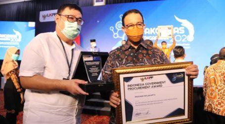 Pemprov DKI Raih Penghargaan Indonesia Goverment Procurement Award 2020