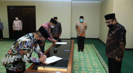 Menag Fachrul Razi Lantik Rektor UIN Sumut dan Ketua IAIN Ambon