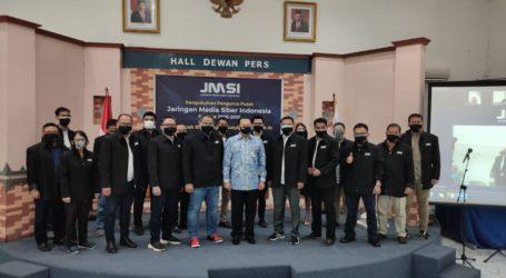 Ketua MPR RI Kukuhkan Pengurus Pusat Jaringan Media Siber Indonesia (JMSI)