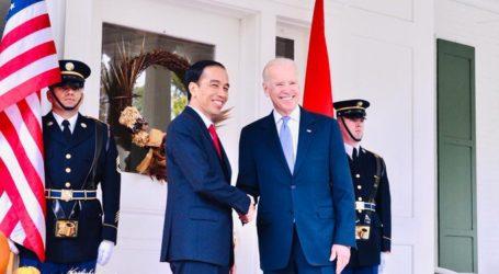 Presiden Jokowi Ucapkan Selamat Kepada Joe Biden