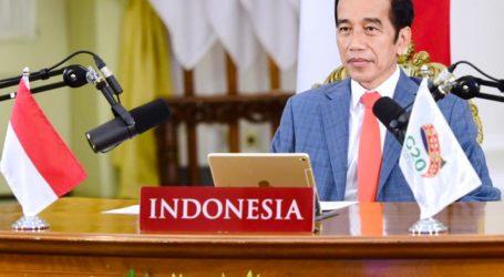 Presiden Jokowi Ikuti Pembukaan KTT G20