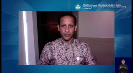 Mendikbud Nadiem Makarim Paparkan Lima Terobosan Seleksi Guru PPPK