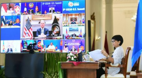 Menlu RI: AS Mitra Strategis ASEAN di Kawasan