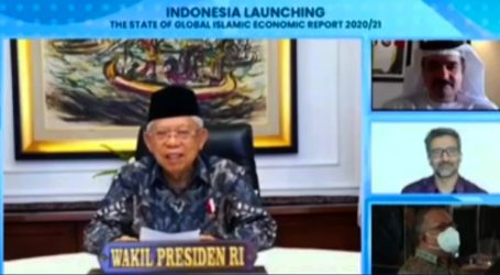 Wapres Ma'ruf Amin Berharap Indonesia Jadi Pusat Halal Dunia