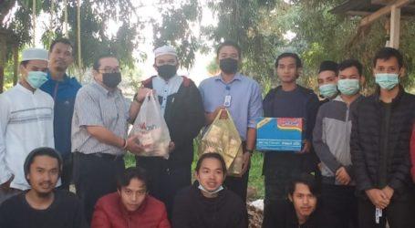 Mahasiswa Indonesia Kuliah Dakwah Islamiyah di Tripoli Terima Bantuan Sosial Tahap Kelima