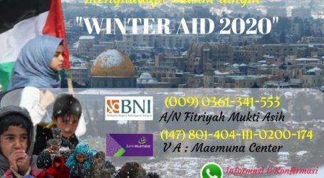 Mae_C Luncurkan Program Bantuan Musim Dingin 2020 untuk Palestina