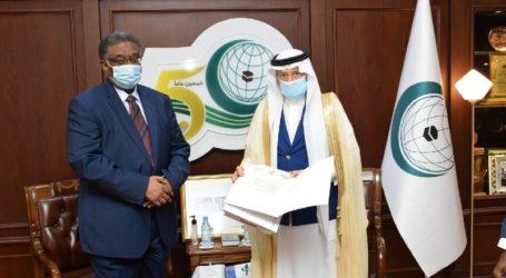 Utusan Sudan Serahkan Surat Kepercayaan kepada Sekjen OKI