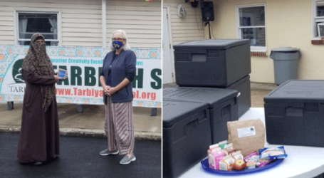 Sebuah Sekolah Tarbiyah Islam di AS Sajikan Lebih 1,3 juta Paket Makanan Gratis Sejak Pandemi