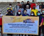 Alumnni ITB Bagikan Sembako kepada Insan Olahraga