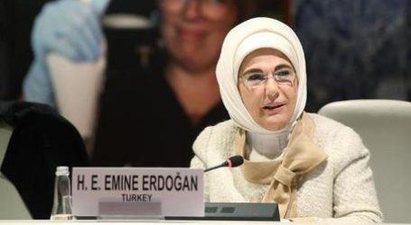 Ibu Emine Erdoğan Dukung Hari Seni Islam Internasional