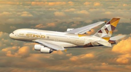 Etihad Airways UEA Akan Mulai Penerbangan Harian ke Tel Aviv 28 Maret 2021