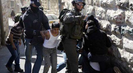 Israel Tangkap 400 Anak Palestina Sejak Awal Tahun Ini