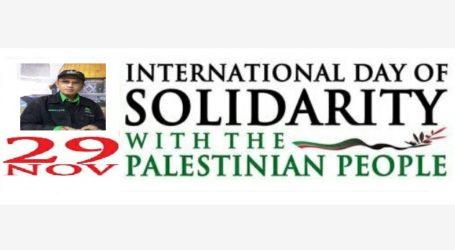 Hari Solidaritas Palestina Ke-43: Kapan Merdeka?