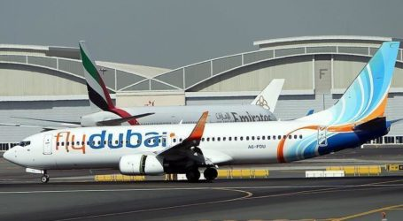 Penerbangan Pertama FlyDubai Mendarat di Bandara Israel