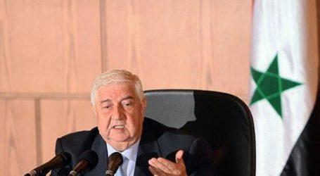 Menteri Luar Negeri Suriah Meninggal Dunia