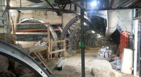 Zionis Israel Gali Terowongan Baru di Sisi Timur Masjid Al-Aqsa