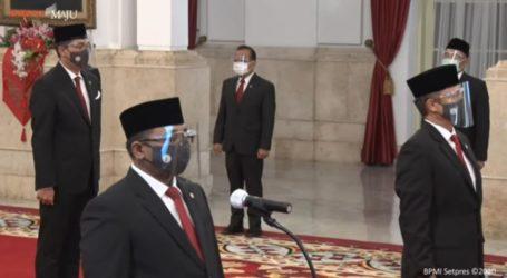 Reshuffle Kabinet, Presiden Lantik Enam Menteri, Lima Wakil Menteri Baru