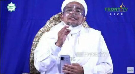Habib Rizieq Tegaskan Revolusi Akhlak Bukan Makar