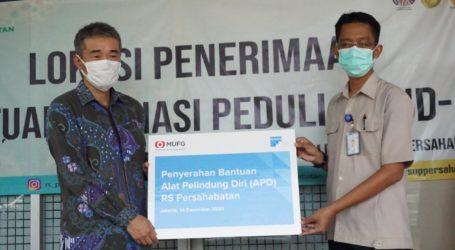 PT. MU Research and Consulting Indonesia Salurkan Bantuan APD ke RS Persahabatan