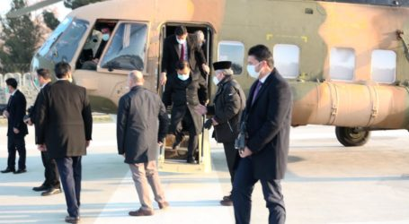 Tiba di Afganistan, JK Dijemput Helikopter Militer Menuju Istana Haram Sarai