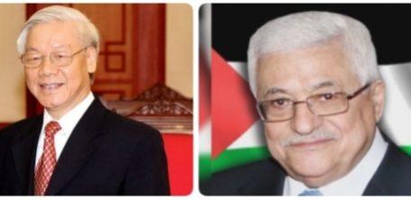 Abbas Terima Surat Solidaritas dari Presiden Vietnam