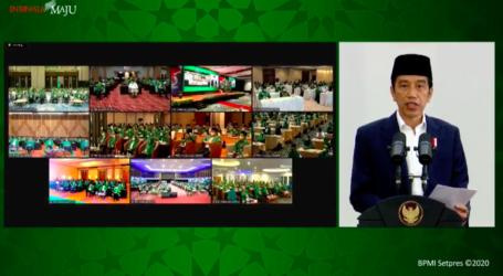 Jokowi: Pembangunan Konektivitas Luring dan Daring Tingkatkan Komunikasi Antarumat