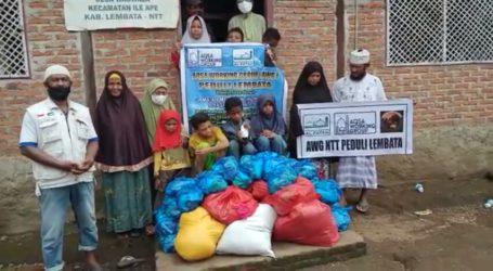 Pengungsi Erupsi Gunung Ile Ape Sampaikan Terima Kasih Atas Bantuan Jama'ah Muslimin