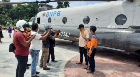 BNPB: Chinook Efektifkan Pengiriman Logistik Penanganan Darurat Erupsi Ili Lewotolok