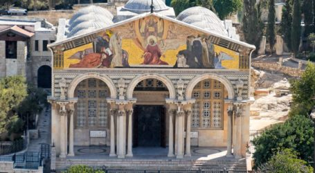 Pemukim Israel Coba Bakar Gereja Getsemani, Digagalkan Muslim Palestina