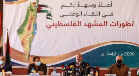 Faksi-Faksi Palestina Desak Lanjutan Rekonsiliasi