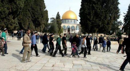 Zionis Lakukan 23 Pelanggaran Terhadap Al-Aqsa November Lalu