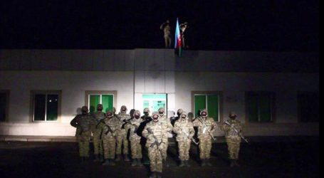 Azerbaijan Kibarkan Bendera di Kota Lachin Setelah 28 Tahun Diduduki Armenia