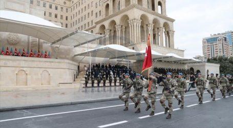 Presiden Turki dan Azerbaijan Hadiri Parade Kemenangan Pembebasan Karabakh