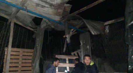 Tank Israel Serang Rumah Warga Palestina dan Membom Beberapa Pos Perlawanan