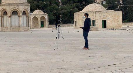 Pertama Kali Israel Kirim Surveyor Petakan Halaman Al-Aqsa