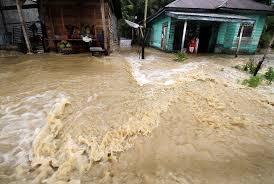 Banjir Genangi Rumah Warga Demak Awal Tahun 2021