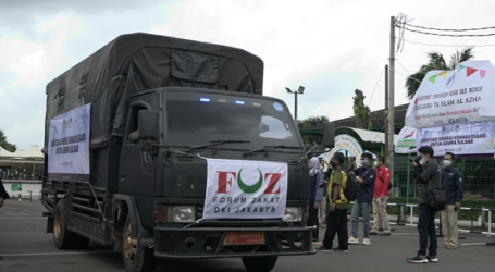 Forum Zakat DKI Jakarta dan IPCN Lepas Bantuan untuk Korban Gempa Sulbar