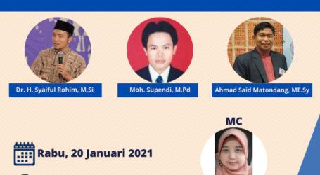 Webinar Pendampingan Penerima Beasiswa Lazismu PCM Kebayoran Baru Bersama LPPM UHAMKA