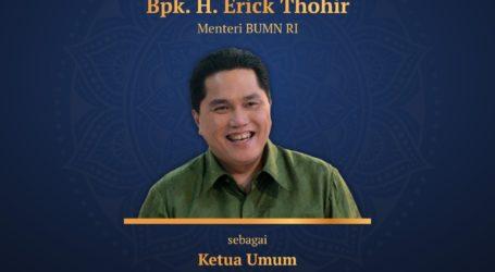 Erick Thohir Terpilih Jadi Ketua Umum MES