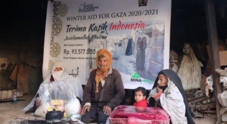 Bantuan Musim Dingin AWG – Mae_C Tiba di Gaza