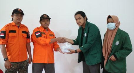 UAR Salurkan Bantuan HMJ IPII UIN Lampung untuk Sulbar