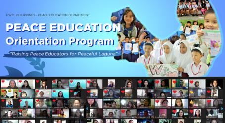 HWPL Terus Gencarkan Workshop Pendidikan Perdamaian