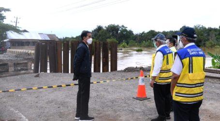 Presiden Perintahkan PUPR Perbaiki Jembatan Rusak Akibat Banjir di Kalsel