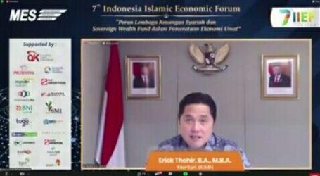 Erick Thohir: Pemberdayaan Masyarakat dengan Memanfaatkan Ekonomi Syariah