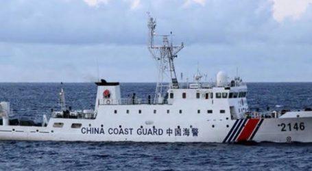 China Izinkan Kapal-Kapal Penjaga Pantainya Tembaki Kapal Asing