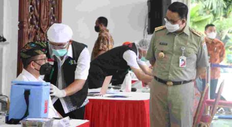 Pemprov DKI Jadikan Vaksinasi Persyaratan Administrasi Berkegiatan