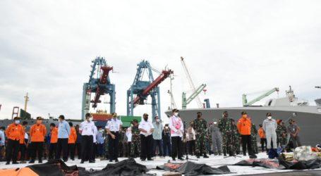 Presiden Instruksikan Tiga Hal Terkait Operasi Pencarian Sriwijaya Air SJ-182